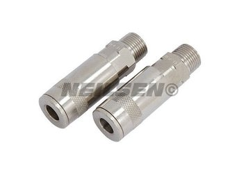 "2pc Male Air Line Quick Coupler Connector 3/8"" BSP FOR AIR COMPRESSOR"