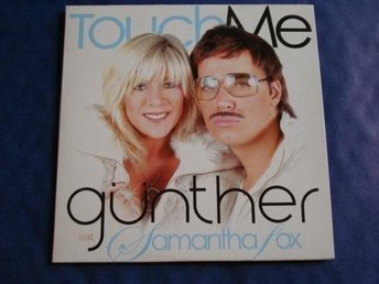 Günther feat. Samantha Fox - Touch me, 2tr CDS - Ny!