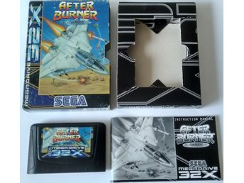 Sega Mega Drive 32X After Burner Complete Komplett
