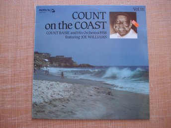 LP Count Basie and his orchestra 1958 Count on the coast