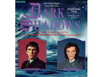 THE ROBERT COBERT ORCHESTRA - THE ORIGINAL MUSIC FROM DARK SHADOWS. LP