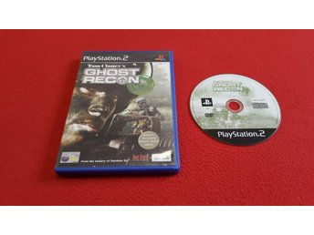 GHOST RECON till Sony Playstation 2 PS2