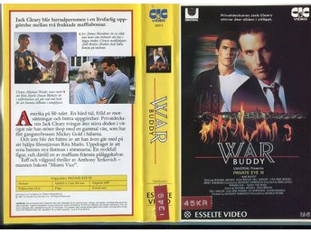 War buddy private eye III av Rob Cohen/Michael Woods/maffia