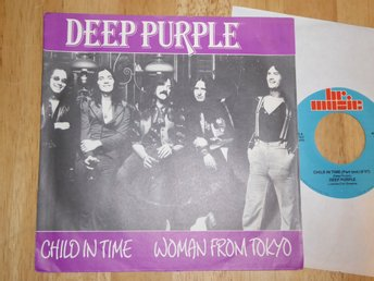 DEEP PURPLE - Child in time/Woman from Tokyo  BR Holland -89