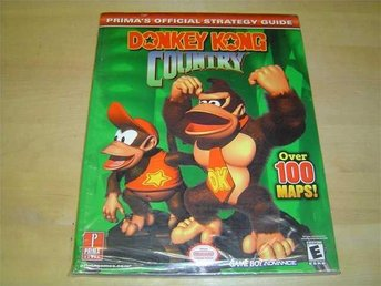 DONKEY KONG COUNTRY SPELGUIDE GUIDE WALKTHROUGH *NYTT*