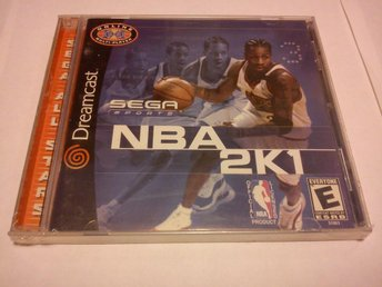 Dreamcast: Sega Sports NBA 2K1 (2001) OBS NTSC!! - Inplastad