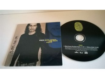 Fred - Here comes the rain again, single CD