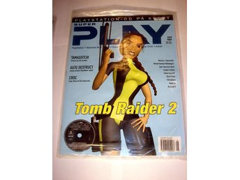 SUPER PLAY   HELT NY Med CD AUG 1997  TOMB RAIDER-Special !!