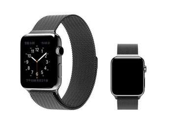 Milanese Watch Band 42mm Mörkgrå