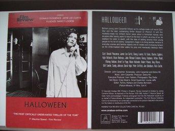 HALLOWEEN vykort FILM Carpenter Alla helgons blodiga natt - Halmstad - HALLOWEEN vykort FILM Carpenter Alla helgons blodiga natt - Halmstad