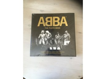 Inplastad ABBA The Photo Book, 600 klassiska och unika bilder!