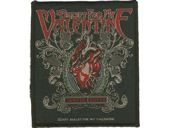 Bullet For My Valentine Tygmärke - Glimåkra - Bullet For My Valentine Tygmärke - Glimåkra
