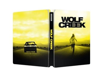WOLF CREEK (Limited Steelbook) (Sjukt grym!) RARE (2011) Creepy. John Jarratt