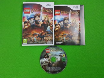 Lego Lord of the Rings KOMPLETT Nintendo Wii