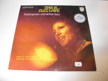 Cleo Laine - This Is... Cleo Laine - Shakespeare, And All That Jazz