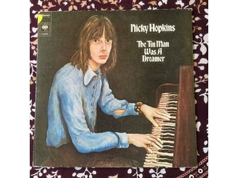 NICKY HOPKINS -  THE TIN MAN WAS A DREAMER LP CBS 1973 GATEFOLD