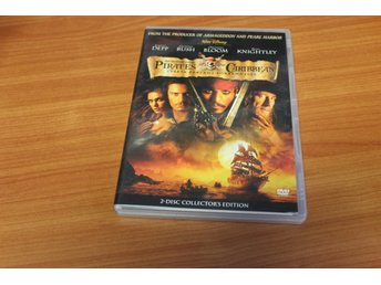 Dubbel-DVD: Pirates of the carribbean (Johnny Depp, Geoffrey Rush)