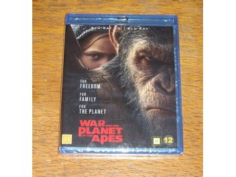 3D Blu-ray - War For The Planet Of The Apes - Ny och Inplastad
