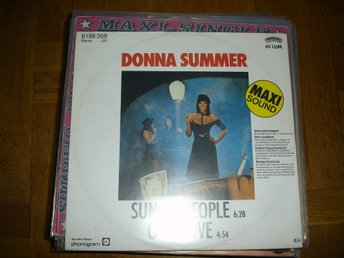 """12"" Donna Summer - Sunset People"