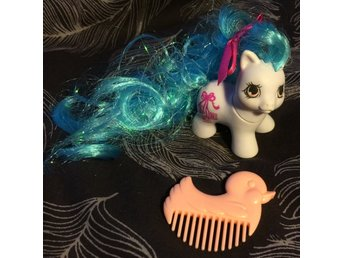 My little pony g1 Little Giggles re-haired mlp