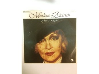 "Marlene Dietrich - Just a gigolo  7"" PS 1978"