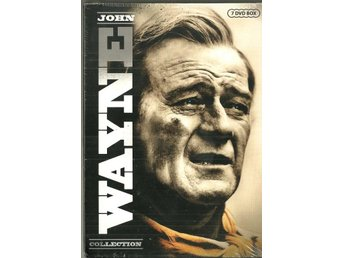 ** JOHN WAYNE collection  med 7 DVD´s   ( NY ) **