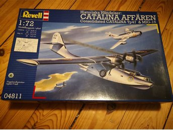 Revell - Catalina Tp47 & MIG-15 Oöppnad