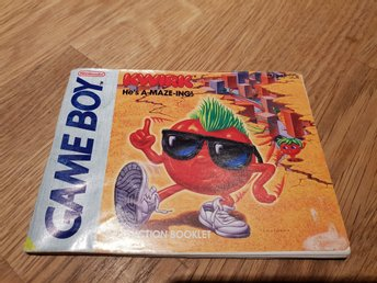 Kwirk SCN Manual GAME BOY