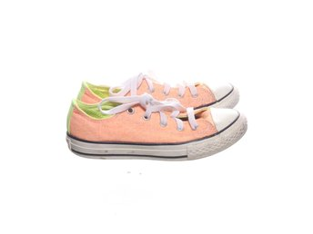 Converse, Tygskor, Strl: 32, Orange