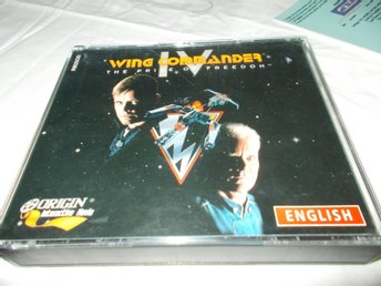 Wing Commander IV Mac CD ROM spel
