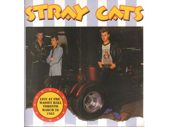 STRAY CATS - LIVE AT THE MASSEY HALL, TORONTO (LTD EDT) 2xLP
