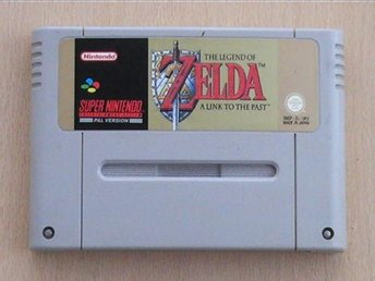 Zelda 3: Link to the Past  - Super Nintendo