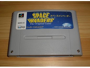 Snes Japan: Space Invaders the Original Game