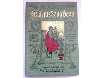 THE SCOTTISH STUDENTS SONG BOOK. 1892.