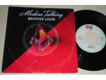Modern Talking 45/PS Brother Louie 1986 VG++