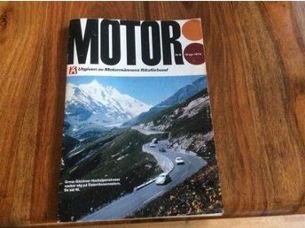 MOTOR NR 8 1975 RENAULT 30 TS ,POLAR TYP 420 - Filipstad - MOTOR NR 8 1975 RENAULT 30 TS ,POLAR TYP 420 - Filipstad