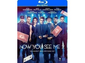 Now you see me 2 blu-ray inplastad