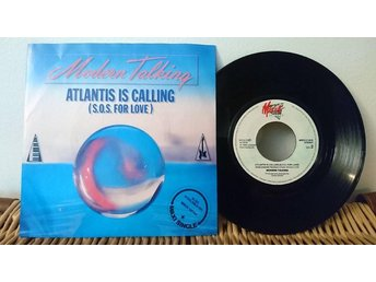 Modern Talking - Atlantis Is Calling - 7'' vinyl Mega Records VG++++