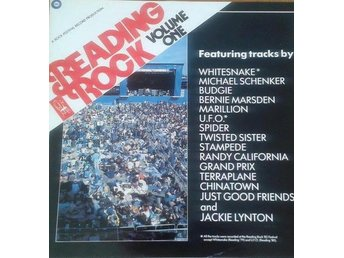 Various Artists  titel*  Reading Rock '82* Rock, Blues Rock, Hard Rock LP x 2