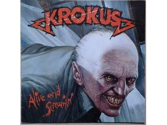 Krokus title* Alive And Screamin'* Hard Rock, Heavy Metal LP Germany - Hägersten - Krokus title* Alive And Screamin'* Hard Rock, Heavy Metal LP Germany - Hägersten
