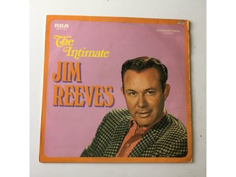 JIM REEVES - THE INTIMATE. (LP)