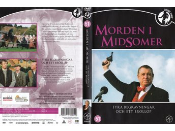 Midsomer Murders 51 Four Funerals And A Wedding 2005 DVD