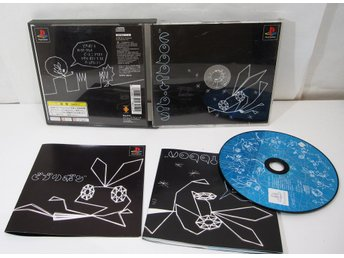 Vib Ribbon till japanskt Playstation PS1