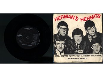 HERMAN'S HERMITS - MRS. BROWN YOU'VE GOT A LOVELY ...