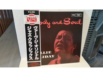 Billie Holiday - Body and soul (Högkvalitativ japanpress i fint skick)