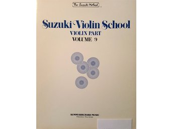 Suzuki violin school volume 9