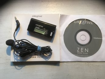MP3-spelare ZEN Nano Plus