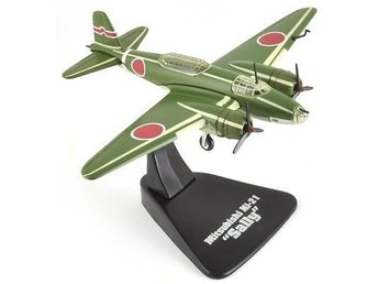 Atlas Editions Mitsubish Ki-21 Sally - Japanese bomber - 1/144 scale - 1-kronas!