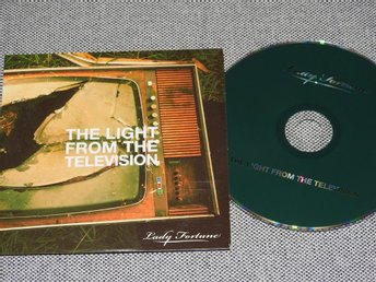 Lady Fortune - The Light from the Television CD Singel (Pappfodral)