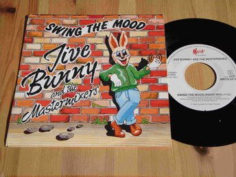 "JIVE BUNNY AND THE MASTERMIXES - SWING THE MOOD 7"" 1989"